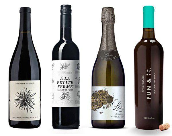 nhãn chai rượu tại In Sắc Màu